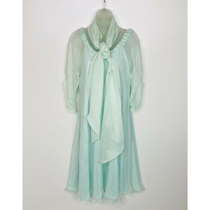 Roger Canamar Couture Dress with Scarf